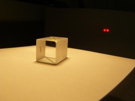 Призма Волластона из кристаллического кварца с углом разведения лучей 2 градуса