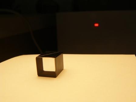 Призма Рошона из кристаллического кварца с углом разведения лучей 1 градус